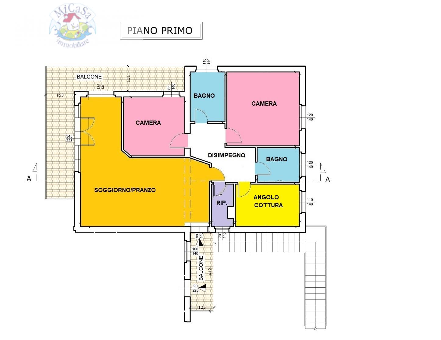 Appartamento in vendita a Pisa, 5 locali, zona Località: 1TIRRENIA, prezzo € 159.000 | PortaleAgenzieImmobiliari.it