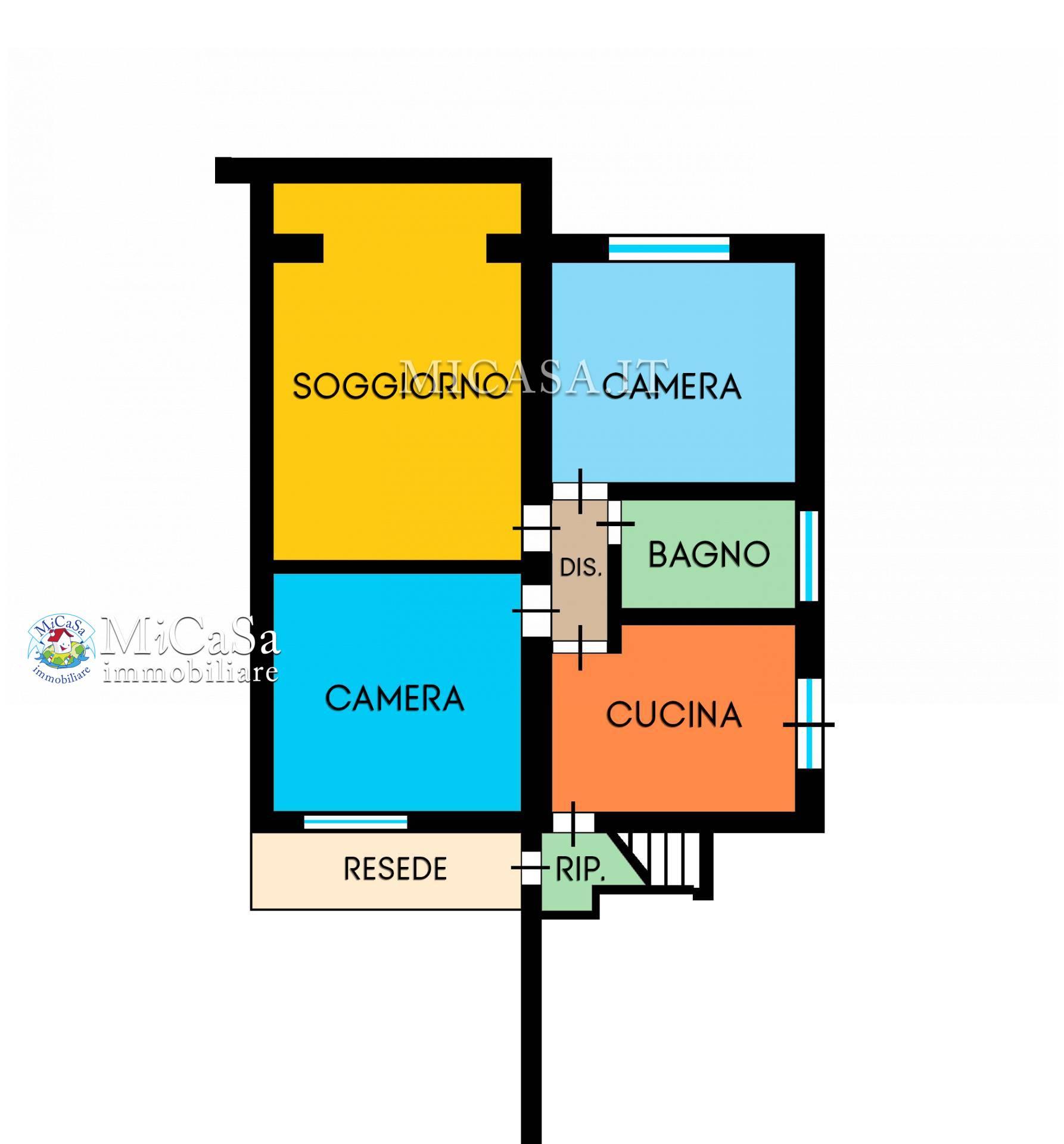 Appartamento in vendita a Pisa, 3 locali, zona Località: 1TIRRENIA, prezzo € 290.000 | CambioCasa.it