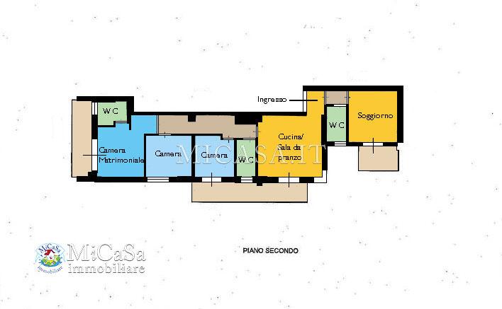 Appartamento in vendita a Pisa, 7 locali, zona Località: 1TIRRENIA, prezzo € 285.000 | PortaleAgenzieImmobiliari.it