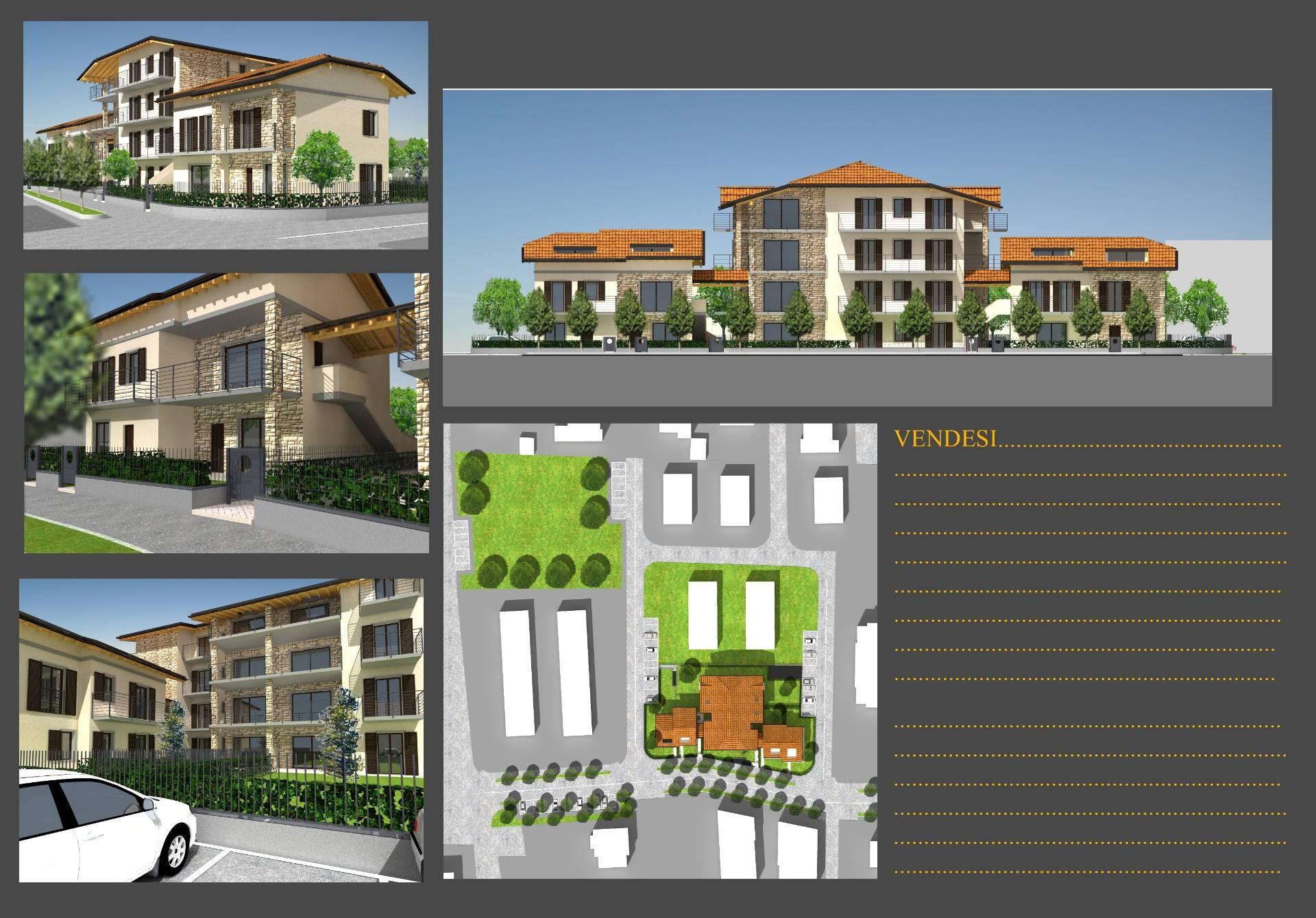 Vendita Trilocale Appartamento Ciserano 79371