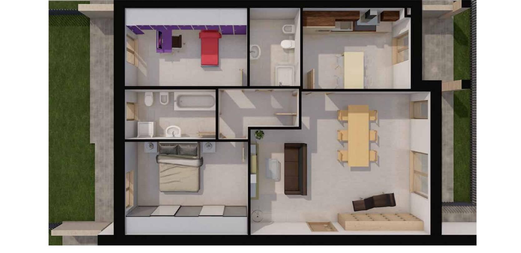 Appartamento in vendita a Trezzo sull'Adda, 3 locali, prezzo € 195.000 | PortaleAgenzieImmobiliari.it