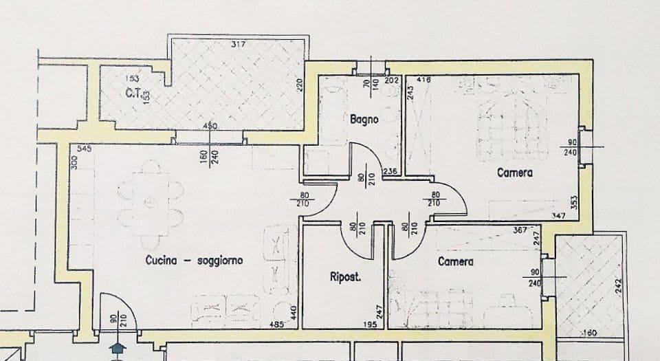 Appartamento in vendita a Quinto di Treviso, 5 locali, prezzo € 150.000   PortaleAgenzieImmobiliari.it