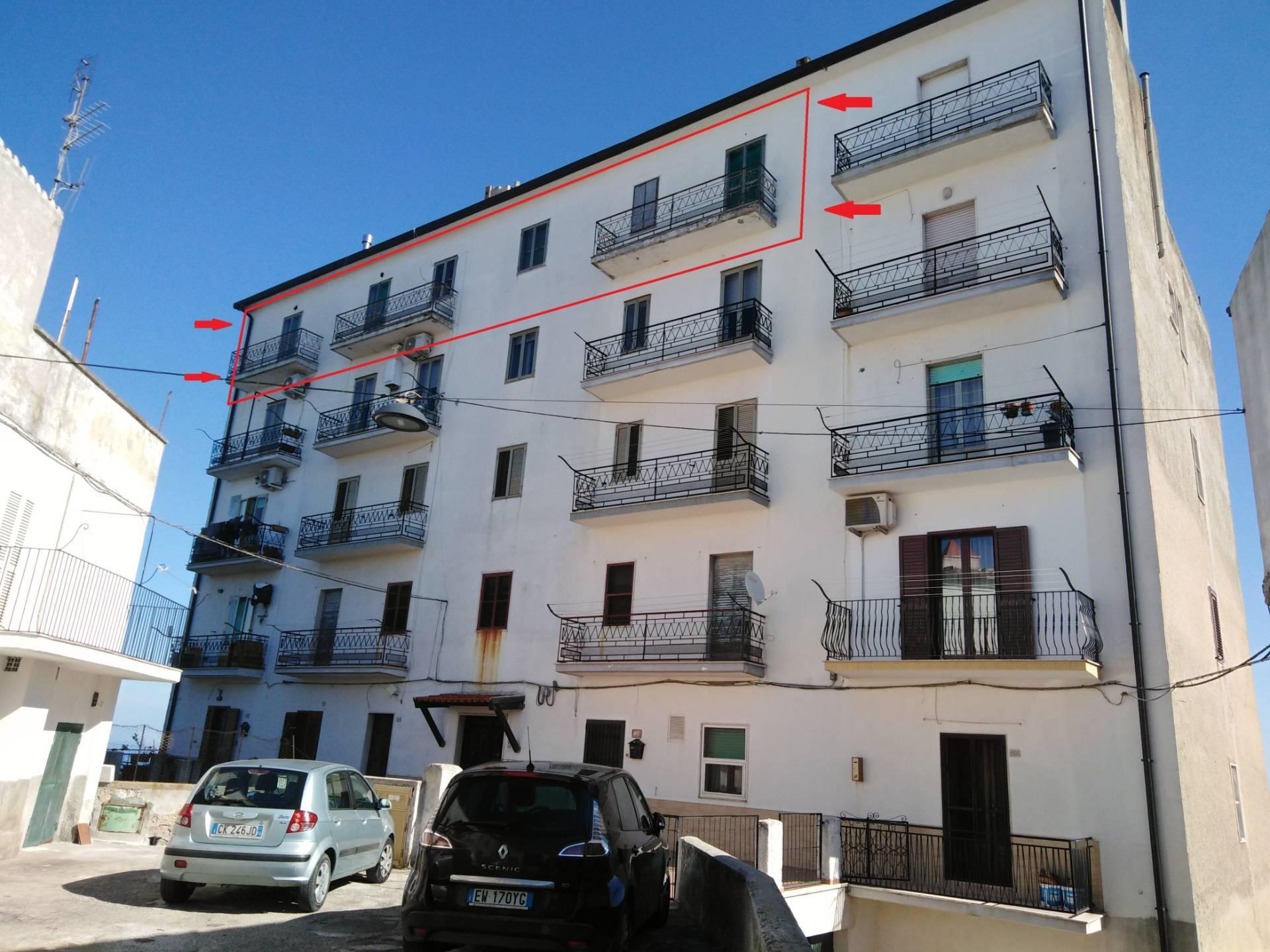 Appartamento in vendita a Vico del Gargano, 6 locali, zona Località: Carmine+Croci+Particchiano, prezzo € 58.000 | PortaleAgenzieImmobiliari.it