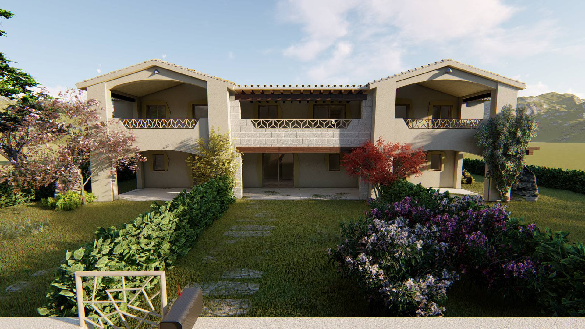 Appartamento in vendita a Budoni, 3 locali, prezzo € 212.000 | CambioCasa.it
