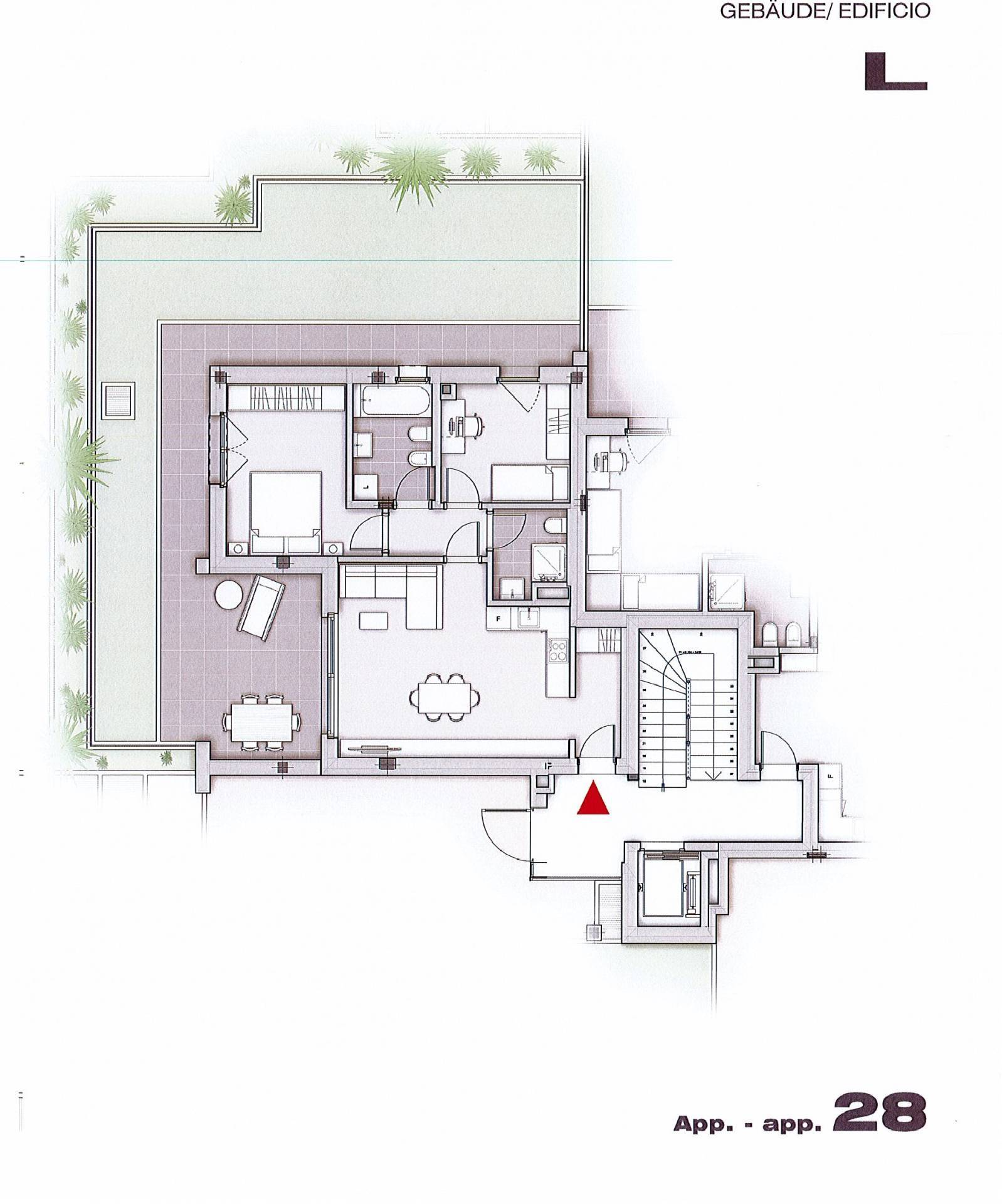 Appartamento in vendita a Appiano sulla Strada del Vino, 3 locali, zona Zona: Cornaiano, Trattative riservate | CambioCasa.it
