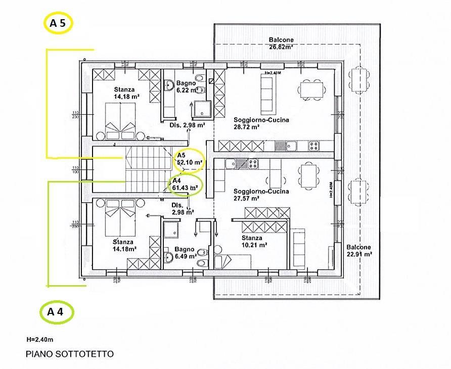 Appartamento in vendita a Trodena, 3 locali, zona Località: SanLugano, prezzo € 237.866 | CambioCasa.it