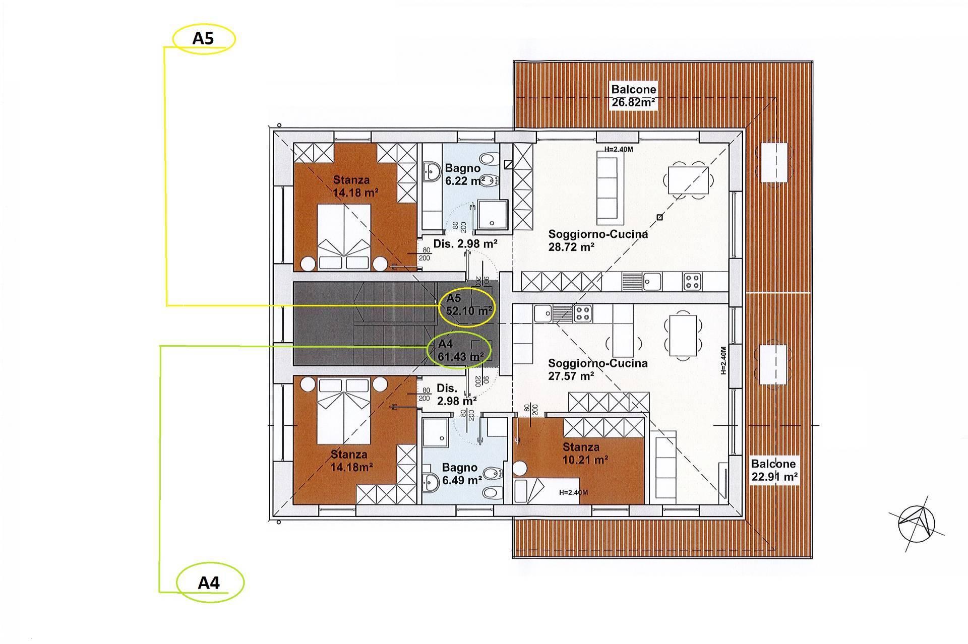 Appartamento in vendita a Trodena, 2 locali, zona Località: SanLugano, prezzo € 216.908 | CambioCasa.it