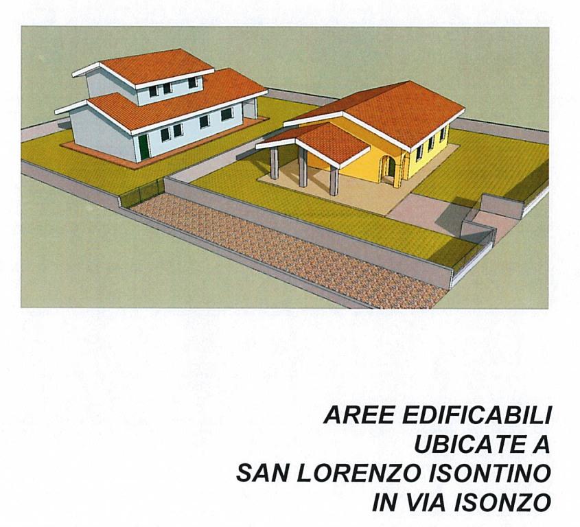 Terreno edificabile residenziale in Vendita a San Lorenzo Isontino