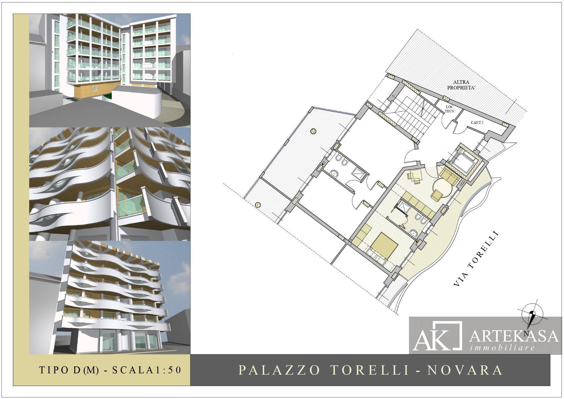 Monolocale Novara - Sacro Cuore