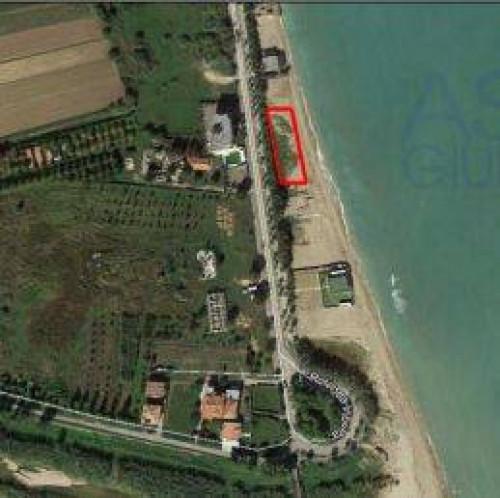 Spiaggia a Martinsicuro Lungomare Italia