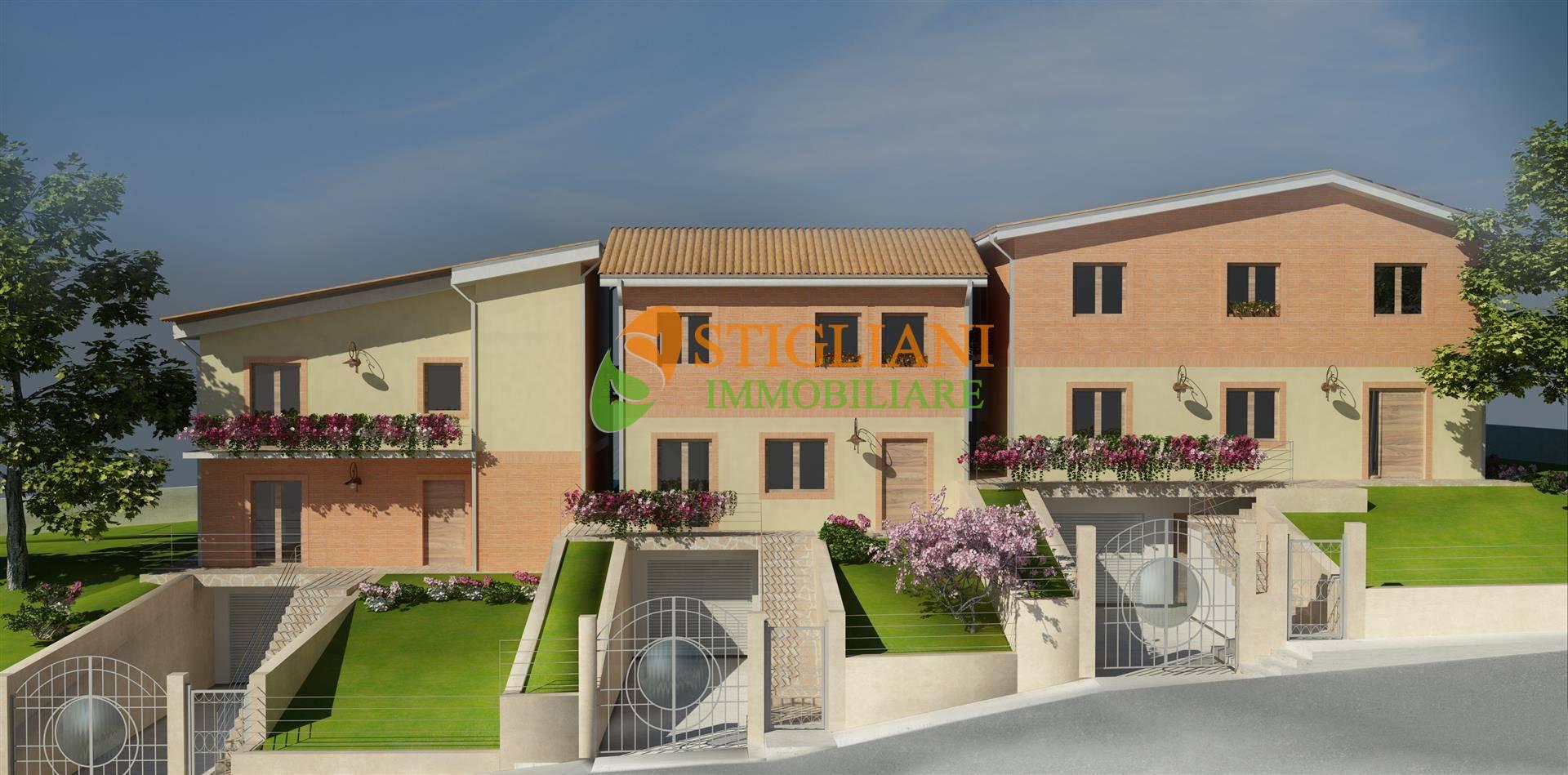 Villa a Schiera in vendita a Ferrazzano, 7 locali, zona Località: C.daSambuco, Trattative riservate | CambioCasa.it