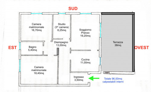 3 CAMERE in Vendita a Mogliano Veneto