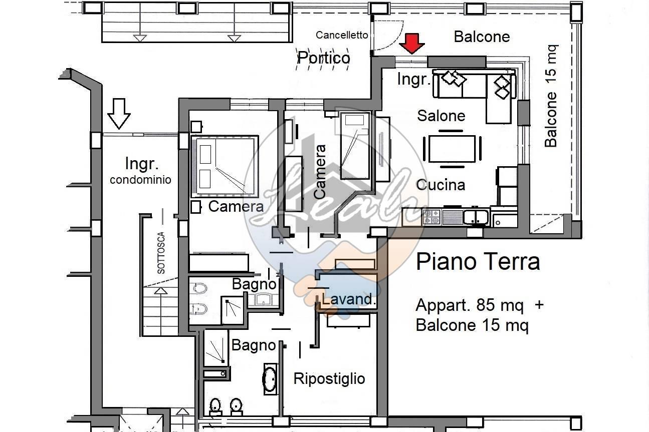 Appartamento in vendita a Tolentino, 4 locali, prezzo € 145.000 | CambioCasa.it
