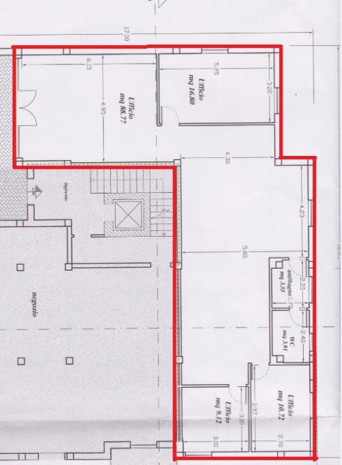 Studio/Ufficio in Affitto a Foligno