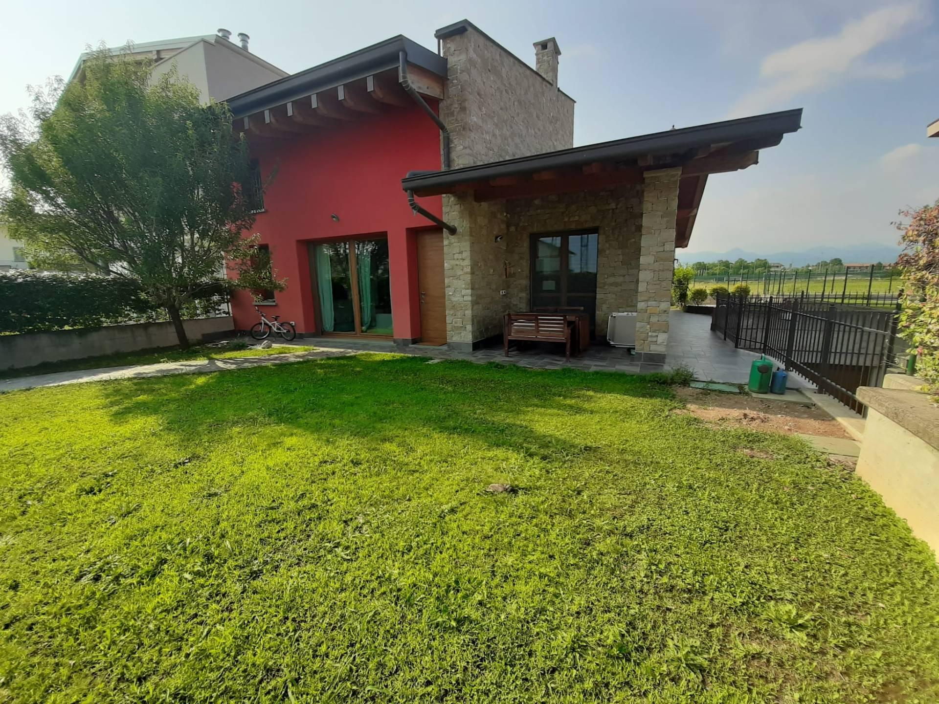 Villa a Schiera in vendita a Grassobbio, 4 locali, prezzo € 429.000 | PortaleAgenzieImmobiliari.it