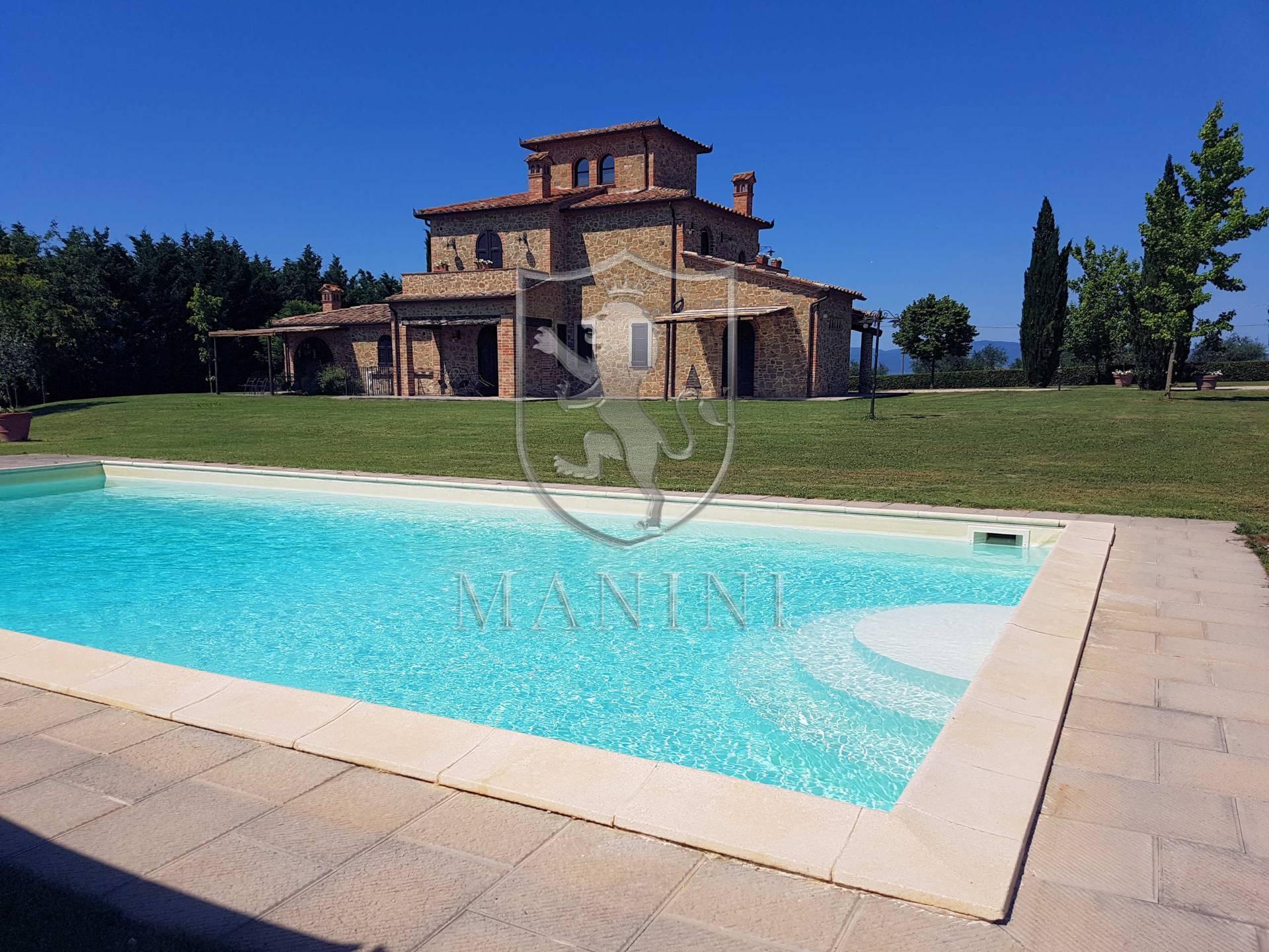 Rustico / Casale in vendita a Castiglione del Lago, 10 locali, zona Zona: Sanfatucchio, prezzo € 1.300.000   CambioCasa.it