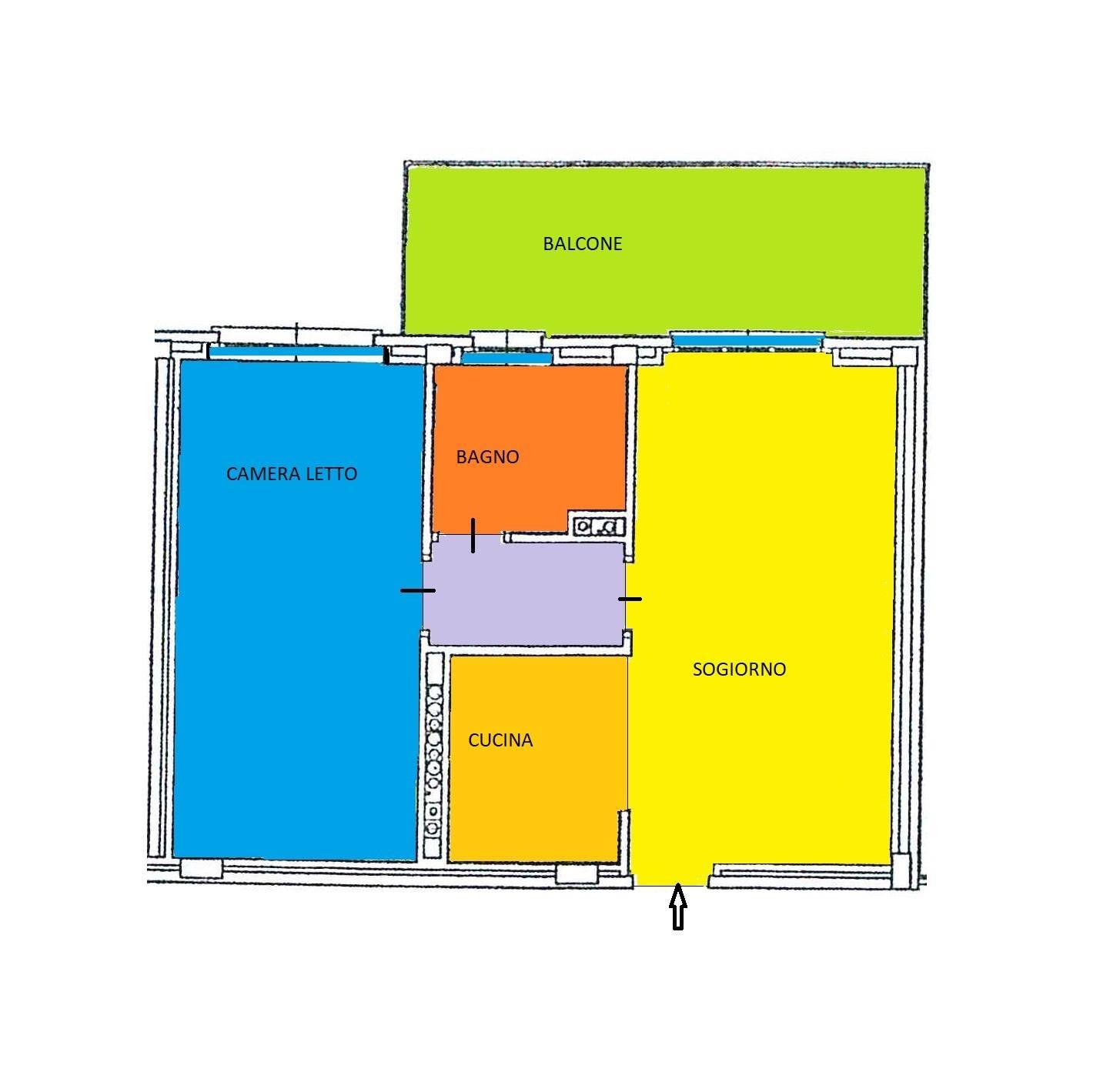 Appartamento in vendita a Trezzano sul Naviglio, 2 locali, prezzo € 170.000 | CambioCasa.it