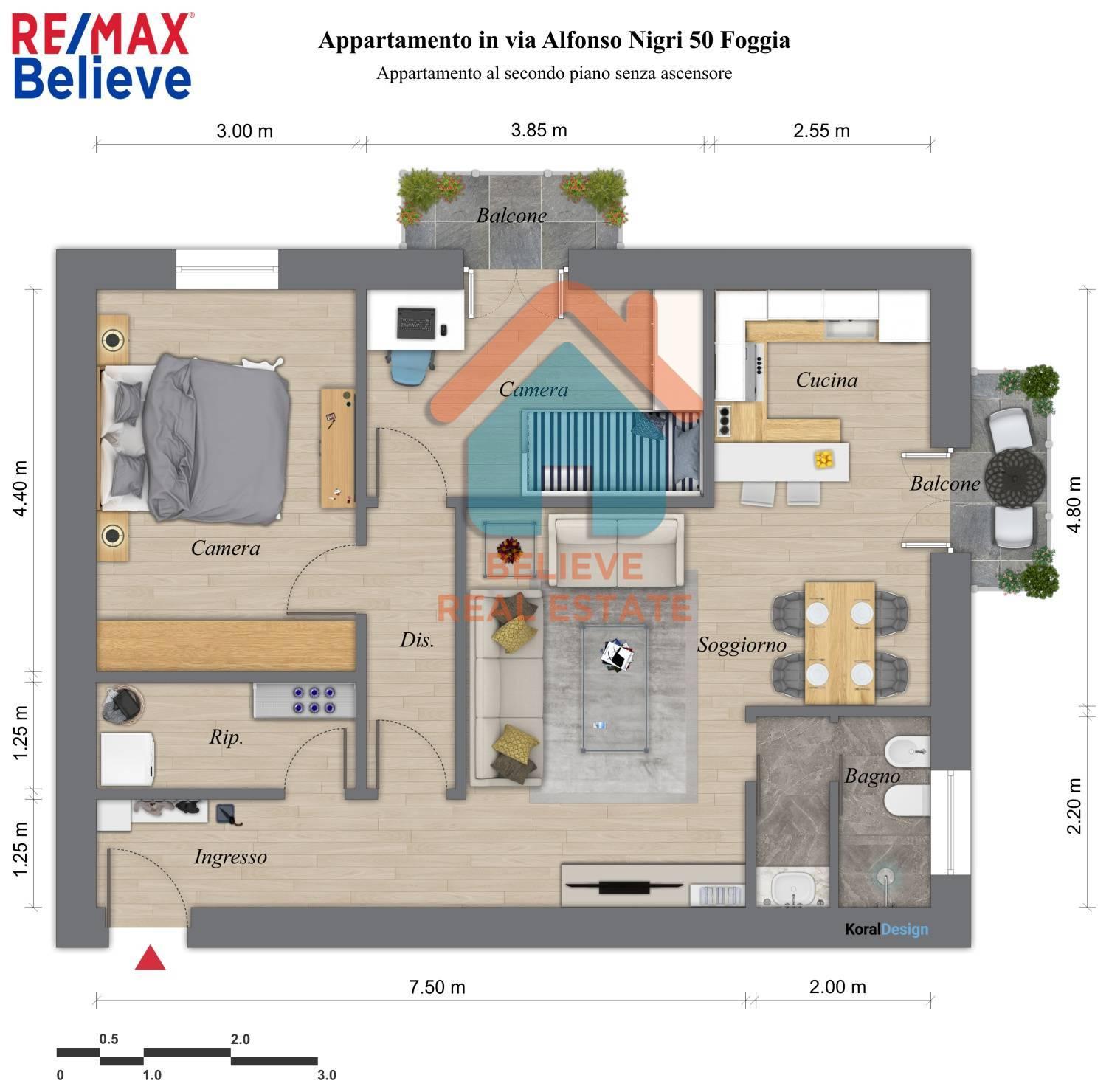 Appartamento, 68 Mq, Vendita - Foggia (Foggia)