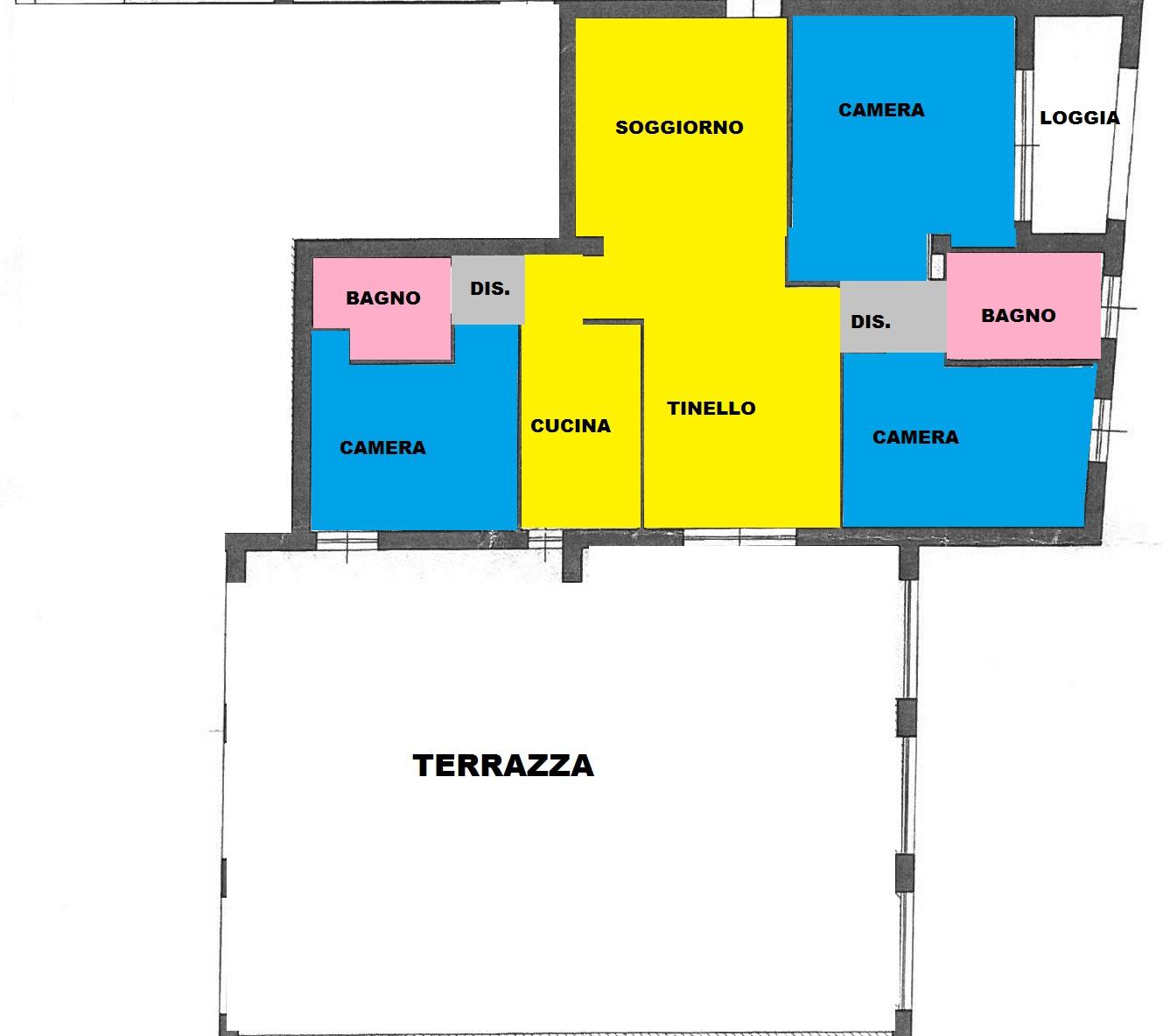 Appartamento in vendita a Pisa, 4 locali, zona aricina, prezzo € 435.000   PortaleAgenzieImmobiliari.it
