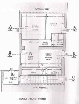 vendita appartamento cascina centro  110000 euro  3 locali  87 mq