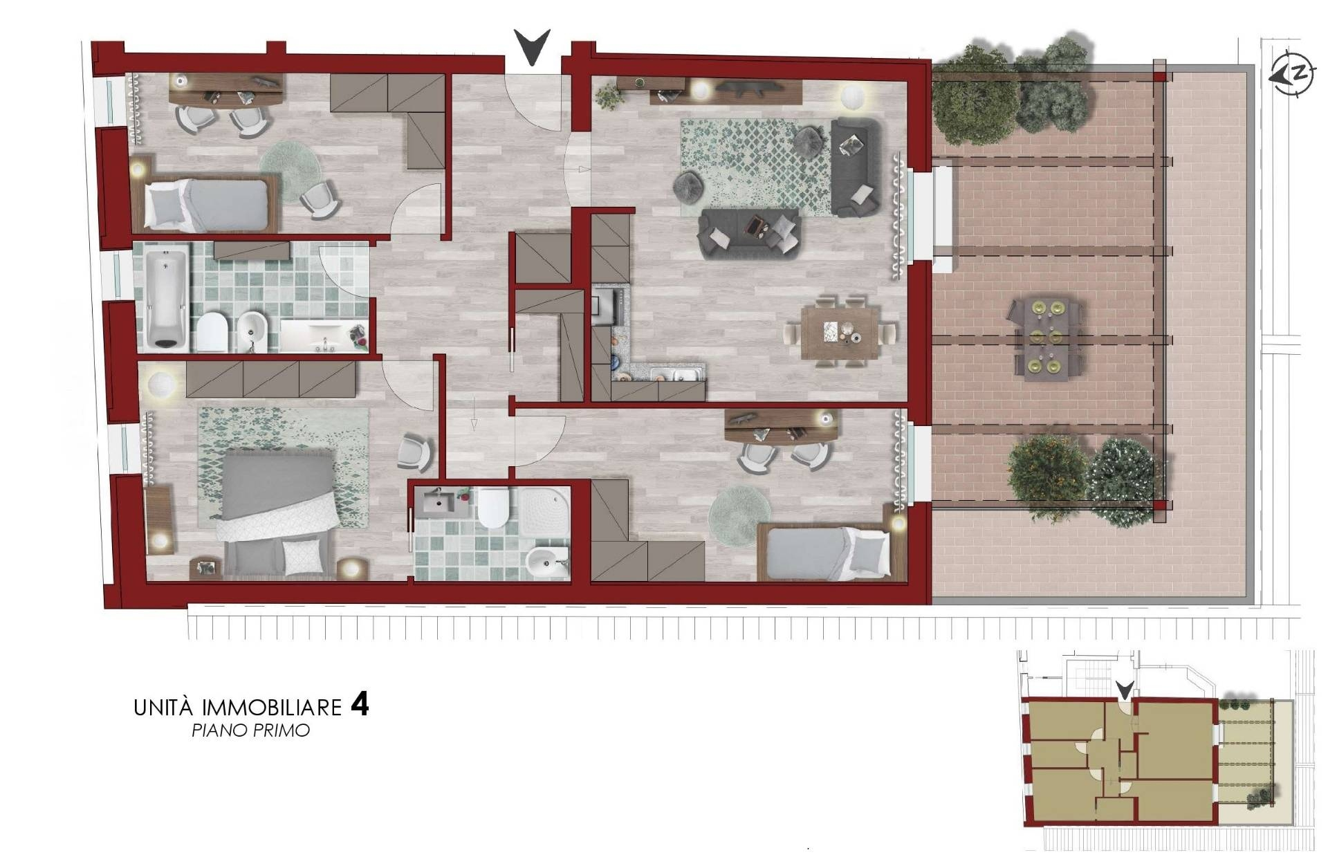 Appartamento in vendita, rif. AC6302