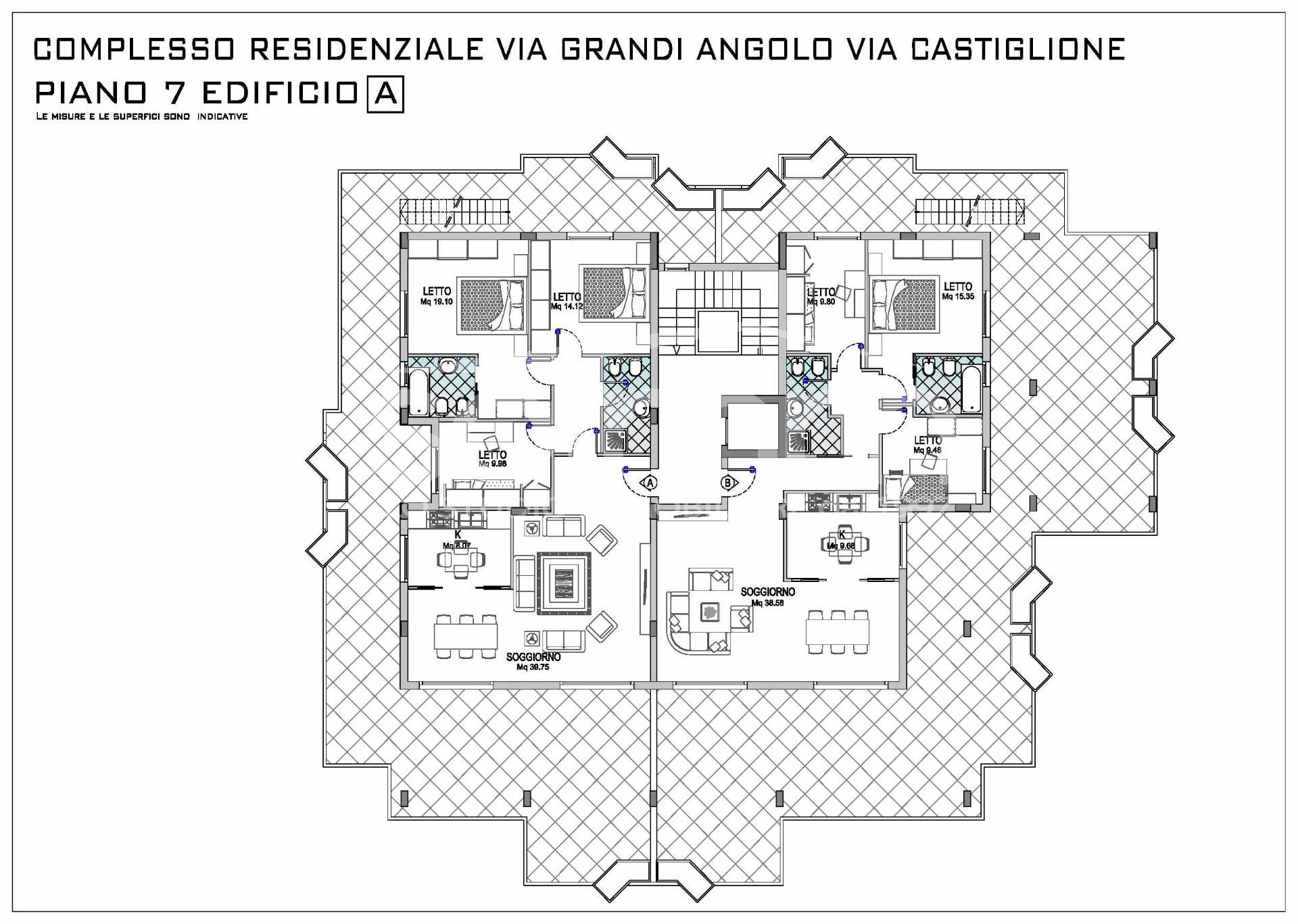 Attico in Vendita a Cagliari - Cod. AO76
