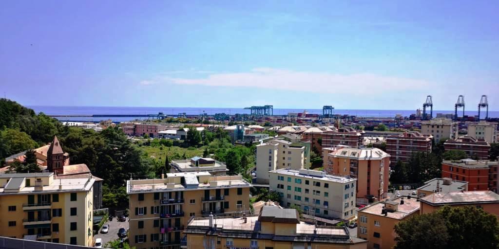 APPARTAMENTO in Affitto a Pra, Genova (GENOVA)