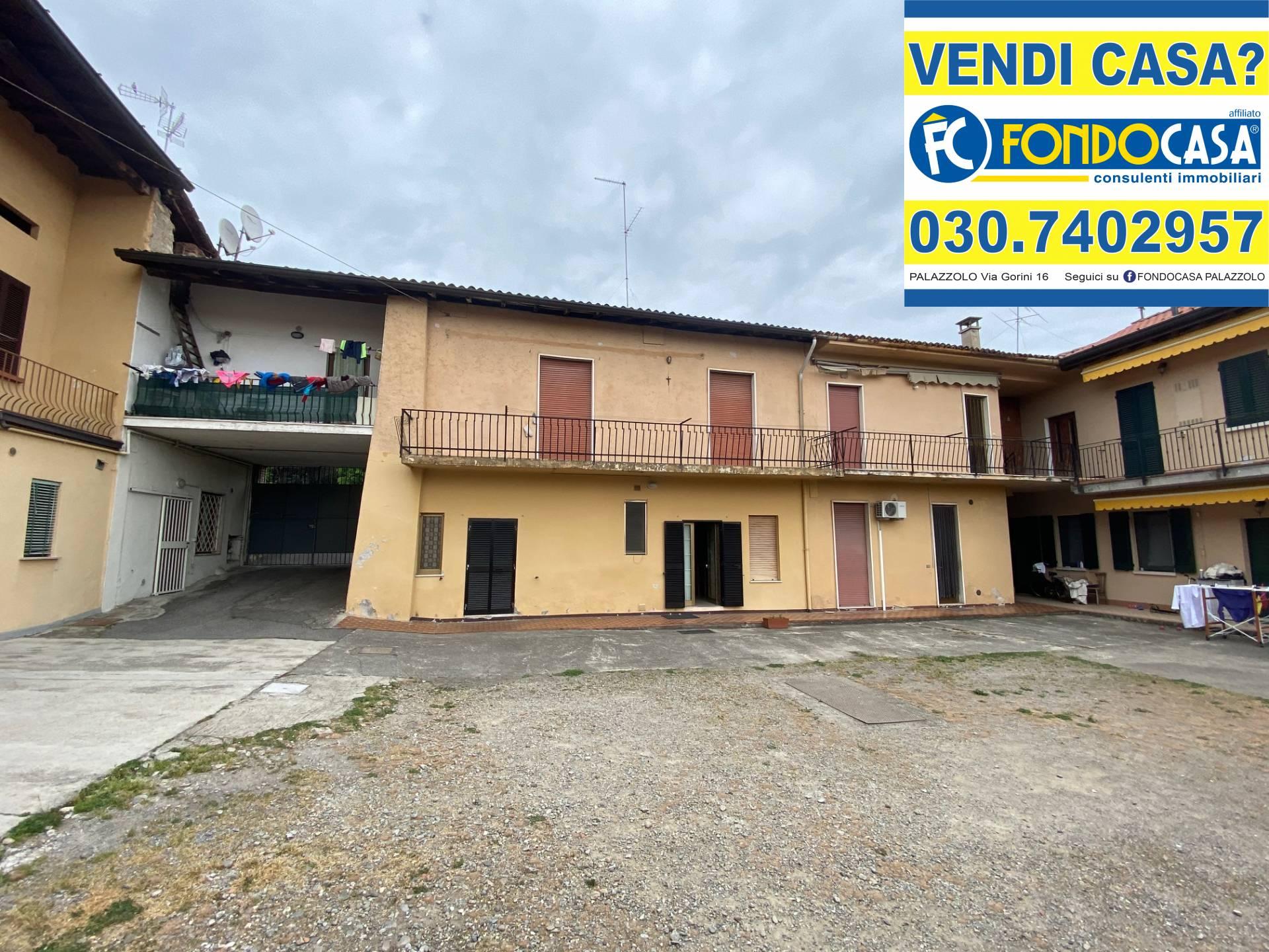 Appartamento in vendita a Palazzolo sull'Oglio, 3 locali, prezzo € 75.000 | PortaleAgenzieImmobiliari.it